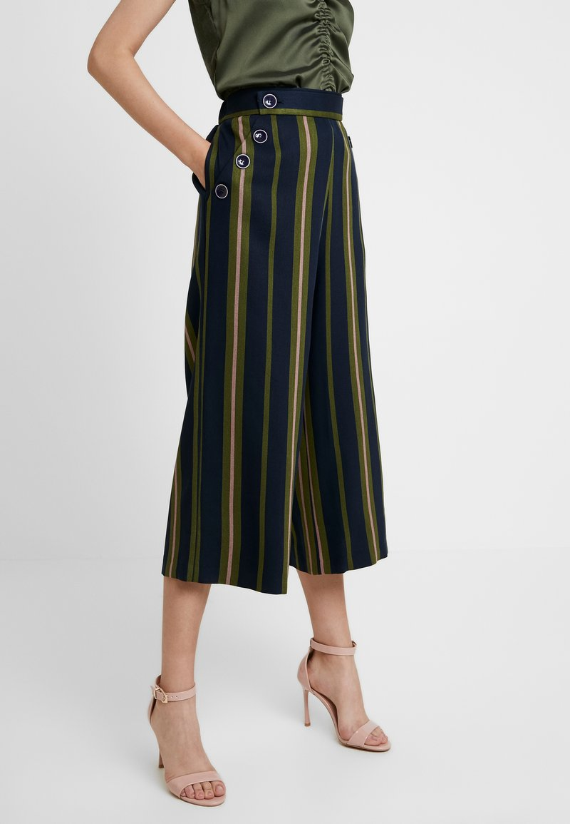 Ted Baker - BASILA - Trousers - navy