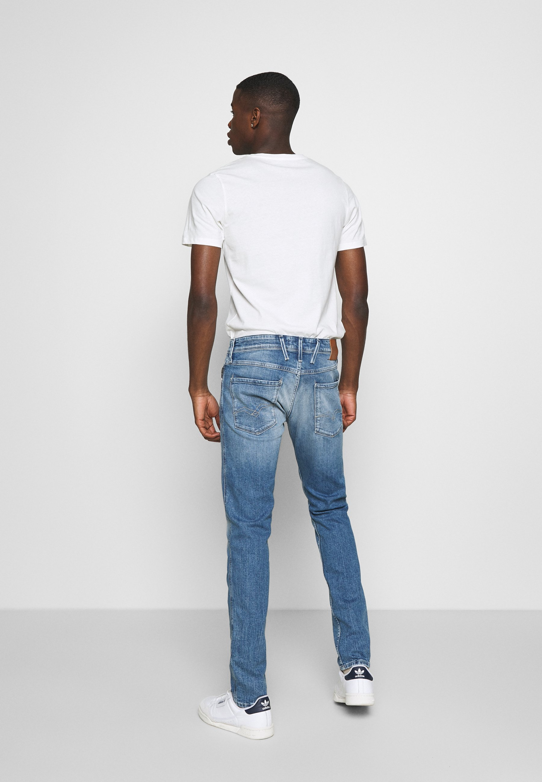 Replay Anbass - Jeans Slim Fit Light Blue/lyseblå Denim