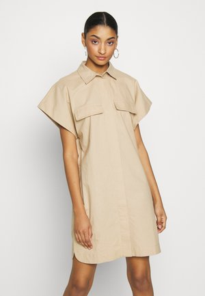 BRENDA DRESS - Shirt dress - sesame