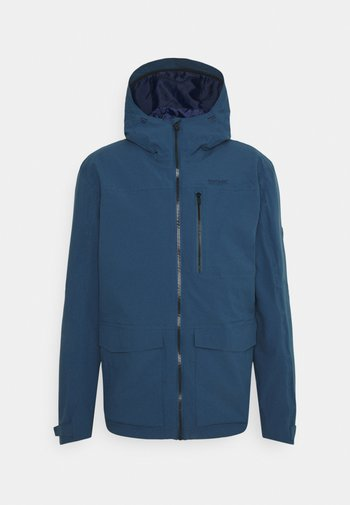 PULTON - Hardshell jacket - dark denim