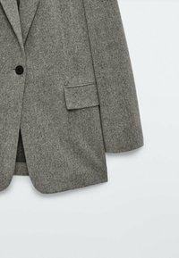 Massimo Dutti - Short coat - grey - 5