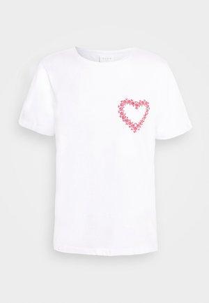 VIJULINE - Print T-shirt - optical snow