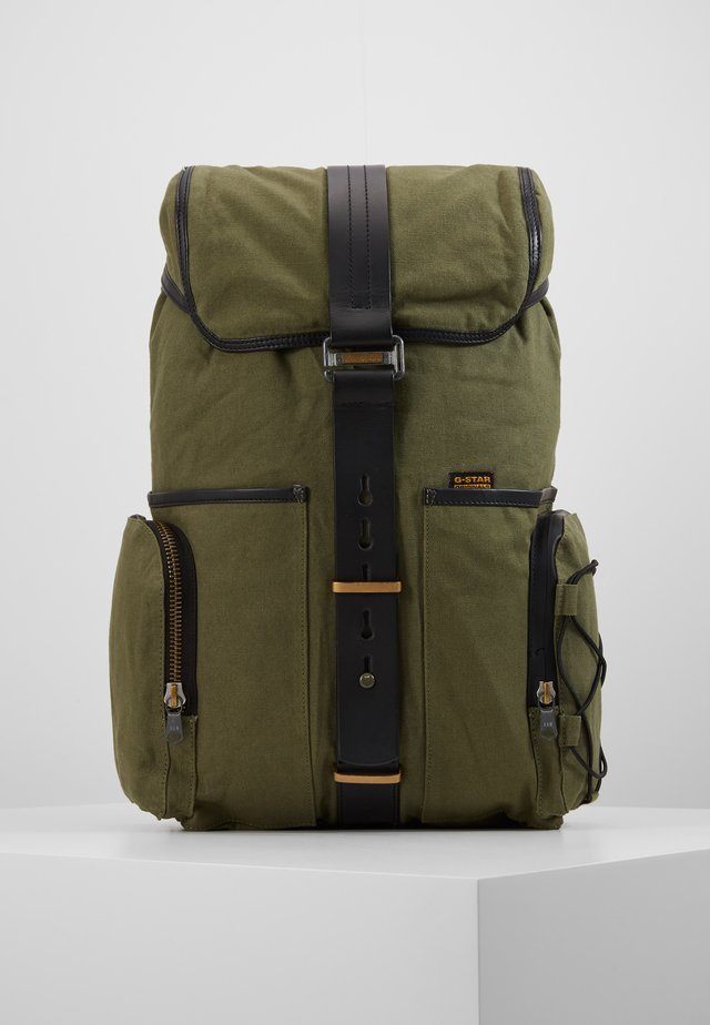 VAAN DAST BACKPACK - Rucksack - bronze green