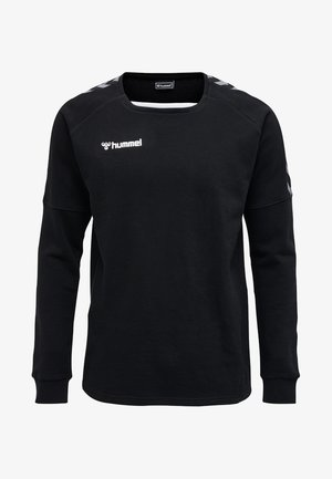 HMLAUTHENTIC - Sweatshirt - black/white