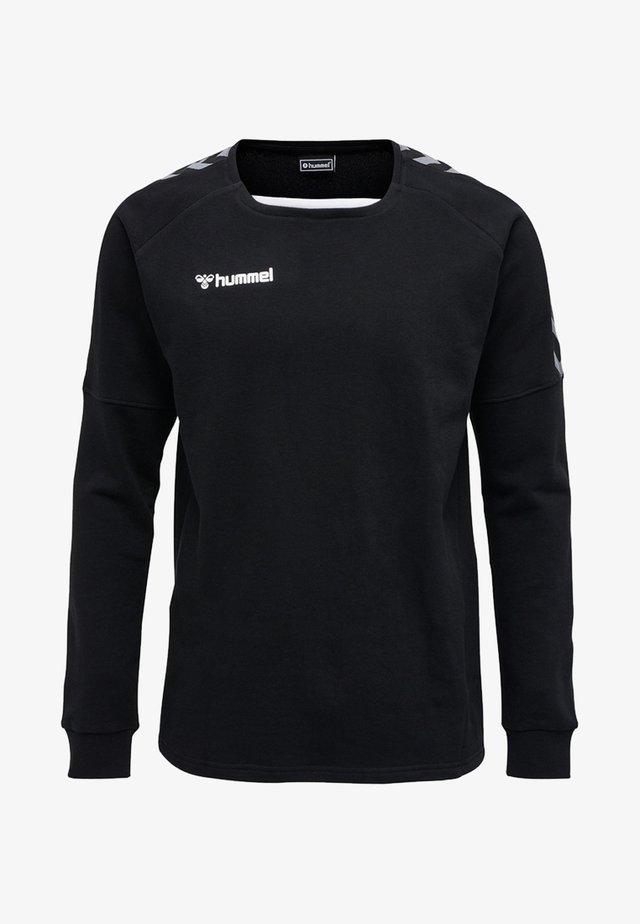 HMLAUTHENTIC - Sweatshirt - black/white