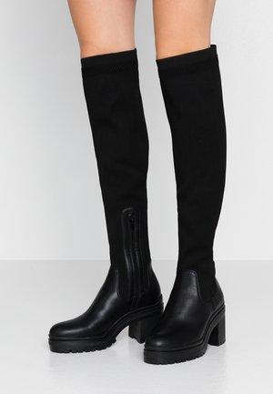 MARYAN - Høye støvler - black miscellaneous
