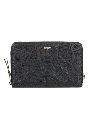 ROXY™ BACK IN BROOKLYN - PORTEMONNAIE MIT REISSVERSCHLUSS RUNDHER - Wallet - anthracite