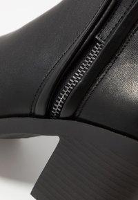 Topshop - BONDI ZIP UNIT - Ankle boots - black - 2