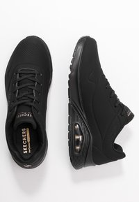 Skechers Sport - UNO - Sneaker low - black - 3