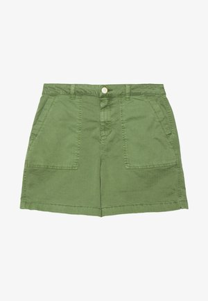 CHINOCARGO BERMUDA - Shorts - dull moss green