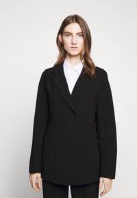 Filippa K - AIDA - Krátký kabát - black - 0