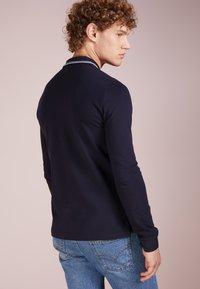 Emporio Armani - Poloshirt - blu scuro - 2