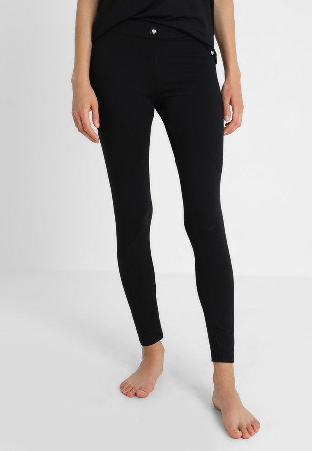 BLACK MATTERS LEGGINS - Pyjama bottoms - black
