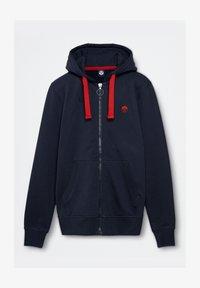 North Sails - Zip-up hoodie - navy blue - 3