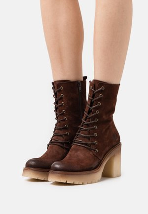 COMBI - High heeled ankle boots - marvin bruno