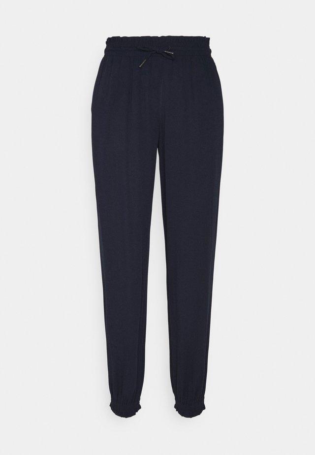FLUID HAREMS PANTS - Pantalon classique - sky captain blue