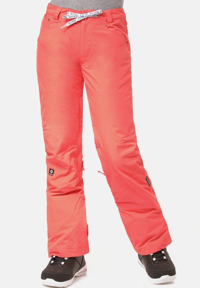Snow pants - poppy