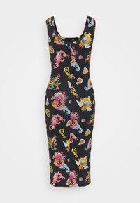 Versace Jeans Couture - LADY DRESS - Vestito di maglina - black - 7