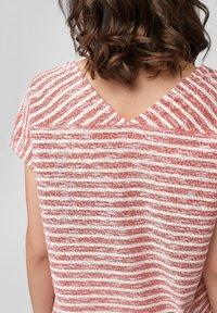 s.Oliver - T-shirt print - red stripes - 5
