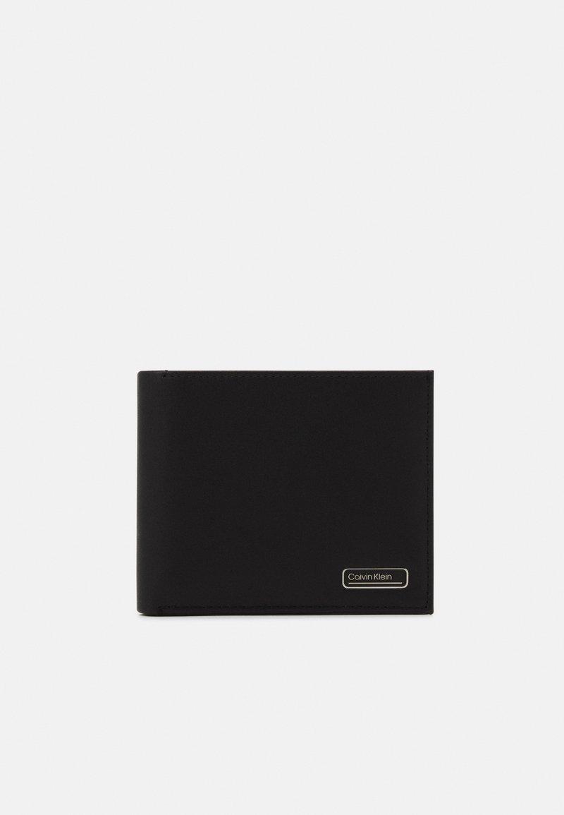 Calvin Klein - BIFOLD COIN - Punge - black