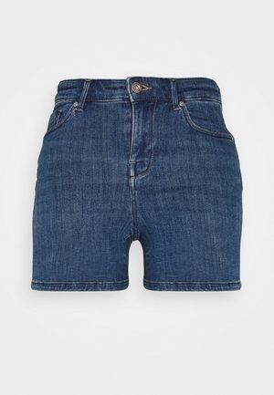 ONLPOWER LIFE MID - Shorts di jeans - light blue denim