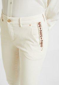 Mos Mosh - BLAKE RICH - Jeans slim fit - ecru - 3