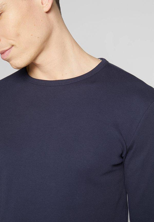 Esprit Bluzka z długim rękawem - navy/niebieski Odzież Męska MSXT