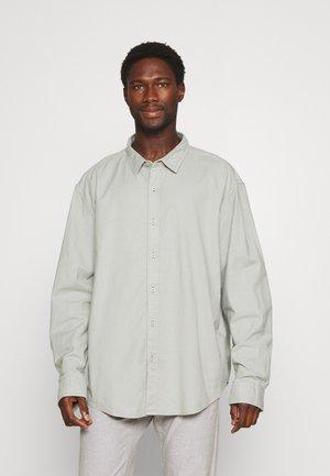 SHIRT - Camisa - aqua grey
