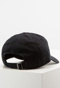 Nike Sportswear - FUTURA WASHED UNISEX - Kšiltovka - black/white - 2
