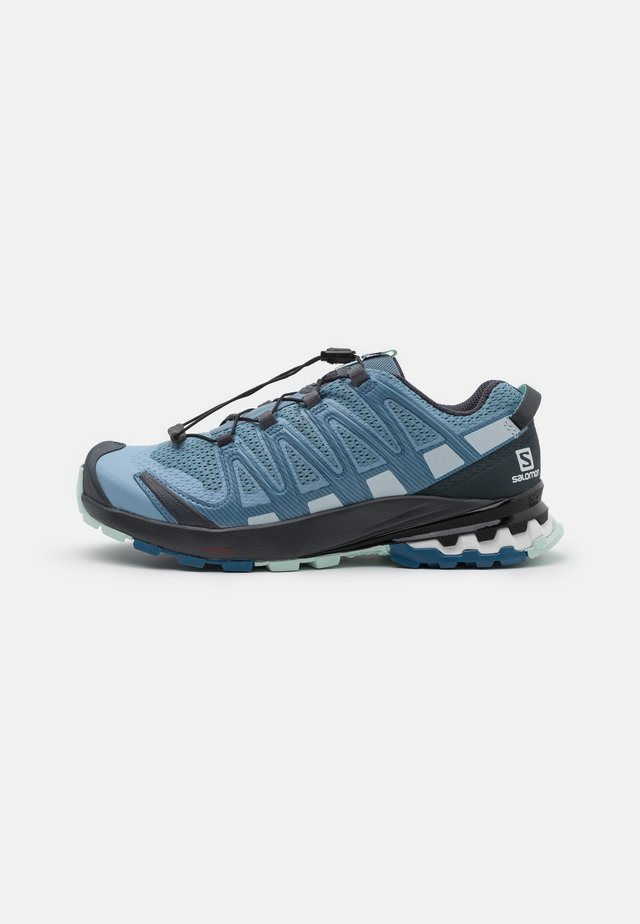 XA PRO 3D V8 - Trail running shoes - ashley blue/ebony/opal blue