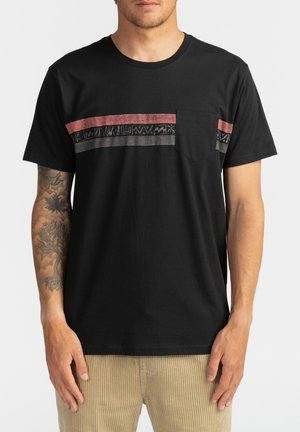 SPINNER - T-shirt con stampa - black