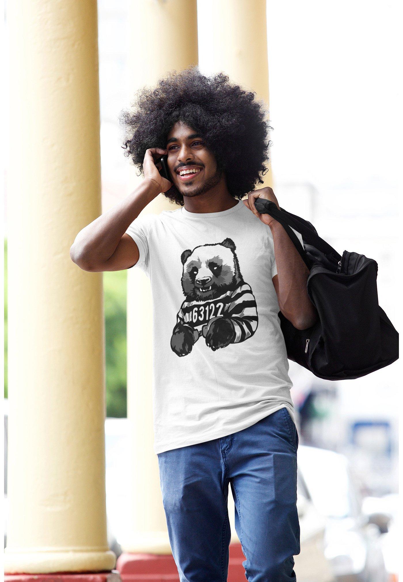 Herren CUTE PANDA - T-Shirt print