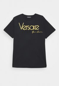 Versace - MAGLIETTA UNISEX - Print T-shirt - nero - 0