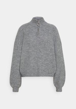 Half zip jumper - Jumper - mid grey