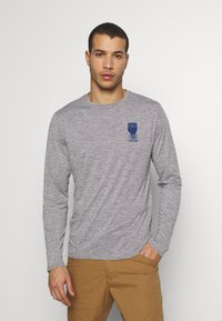 Patagonia - COOL DAILY GRAPHIC - T-shirt à manches longues - feather grey - 2