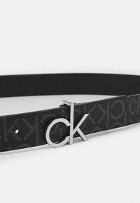 Calvin Klein - LOGO BELT MONO - Pásek - black - 2