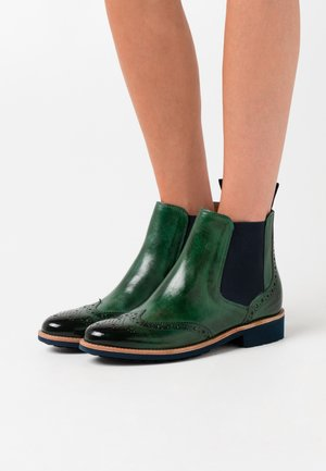 SELINA  - Ankle boots - pine/navy