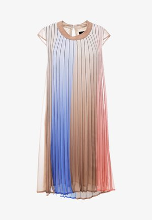 ISABELLE PLEATED DRESS - Day dress - multi color