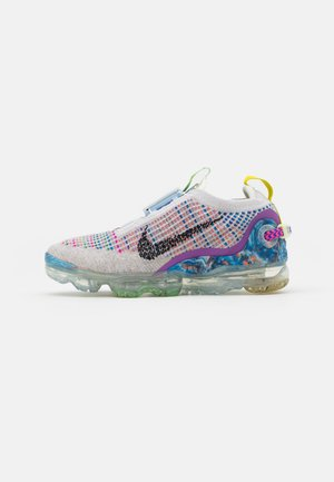 AIR MAX WARP FLYKNIT - Sneakers basse - pure platinum/black/multicolor