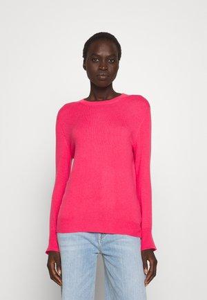 CLASSIC CREW NECK  - Jumper - hot pink