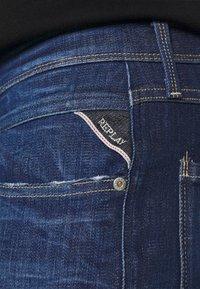 Replay - ANBASS ICE BLAST - Slim fit jeans - dark blue - 4