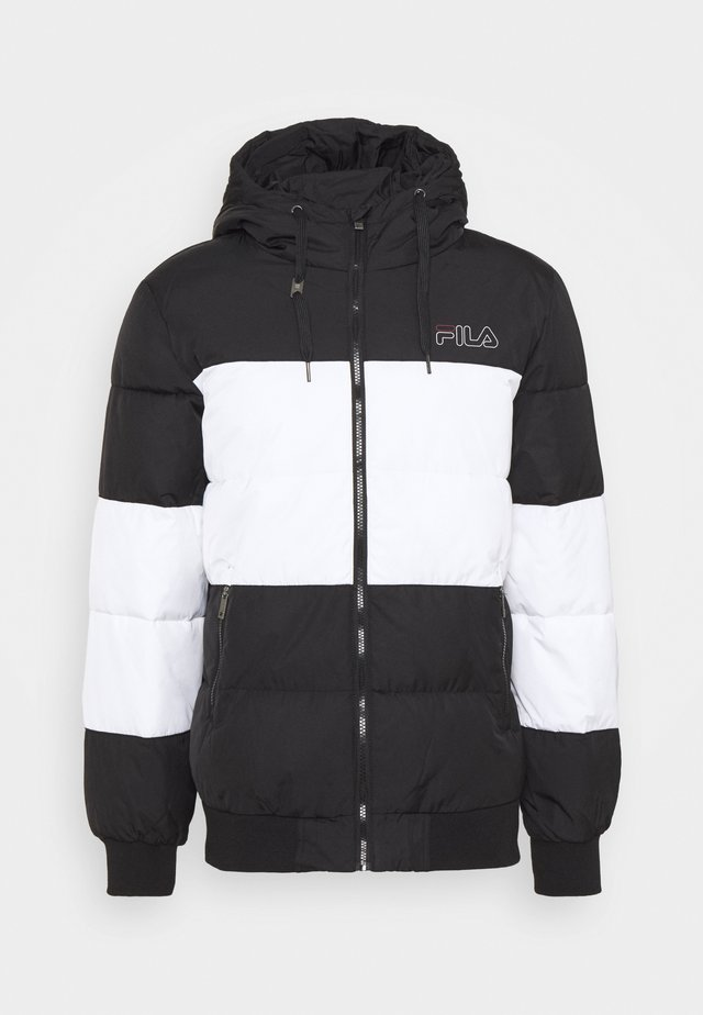 LASSAD PUFFED JACKET - Veste d'hiver - black/bright white