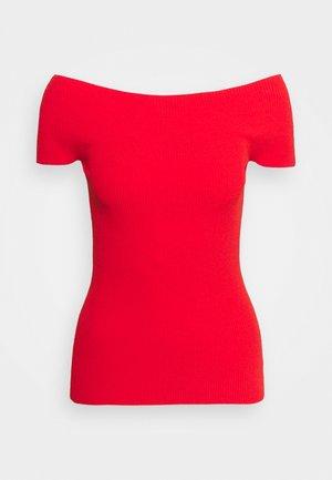 COMPACT  - Print T-shirt - scarlet