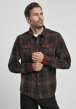 DUNCAN  - Shirt - brown