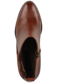 Caprice - Classic ankle boots - cognac nappa 303 - 1