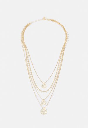 PCSANJA COMBI NECKLACE - Smykke - gold-coloured