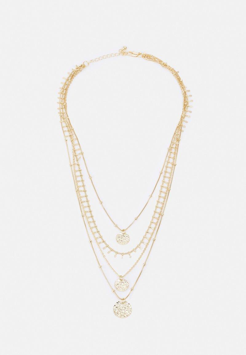 Pieces - PCSANJA COMBI NECKLACE - Necklace - gold-coloured