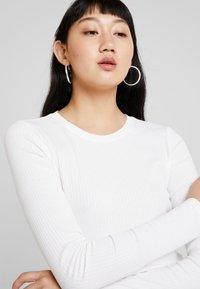 Monki - LILIANA - Long sleeved top - offwhite - 3