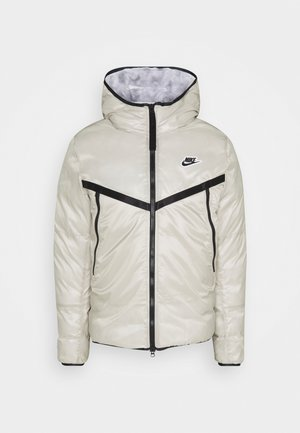 Winter jacket - stone/white/black