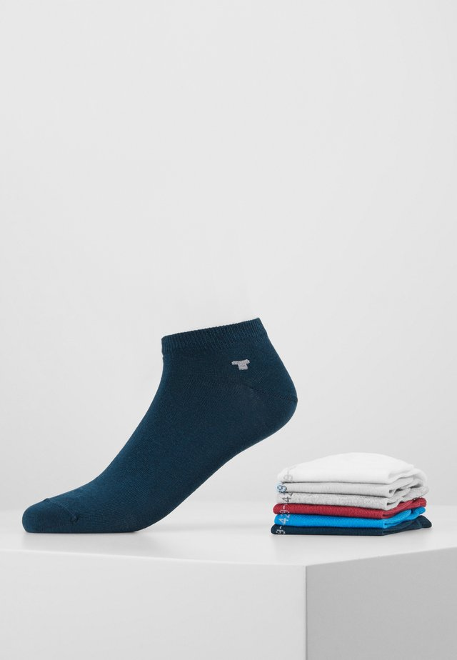 SNEAKER UNI BASIC  12 PACK - Ponožky - white/light blue/grey